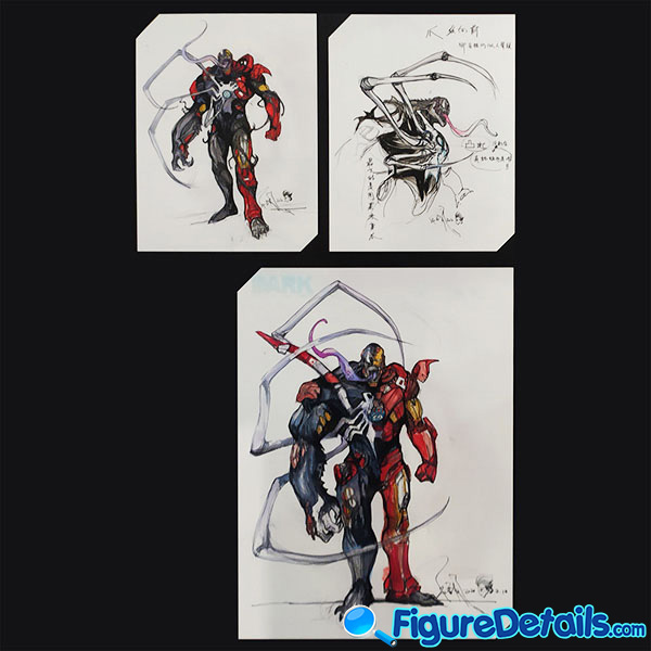 Hot Toys Venomized Iron Man Prototype Preview 11