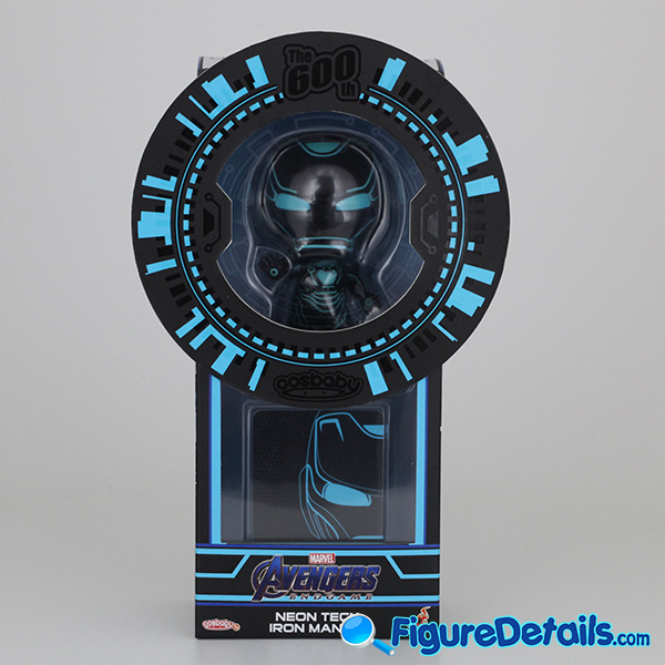 Neon Tech Iron Man Hot Toys Bobble Head Cosbaby COSB600 Review 2