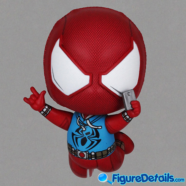 Hot Toys Scarlet Spider Suit Spiderman Bobble-Head Cosbaby cosb620 Review 2