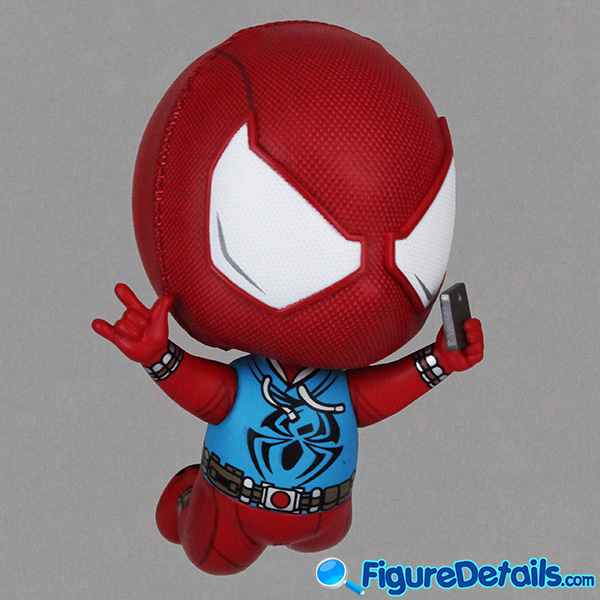 Hot Toys Scarlet Spider Suit Spiderman Bobble-Head Cosbaby cosb620 Review 3