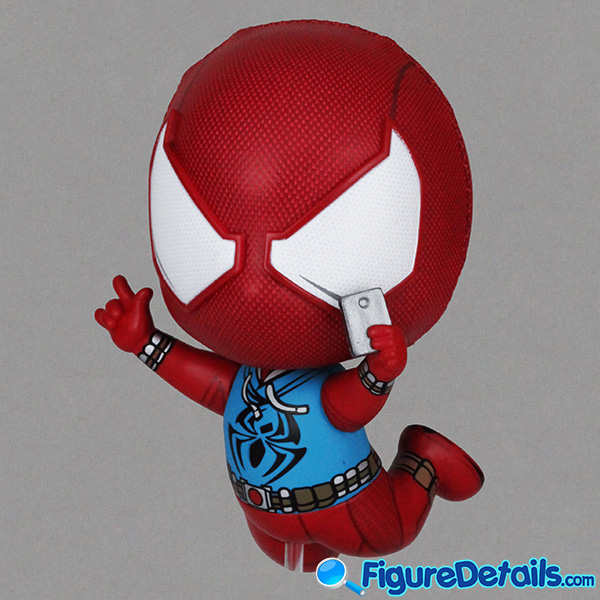 Hot Toys Scarlet Spider Suit Spiderman Bobble-Head Cosbaby cosb620 Review 5