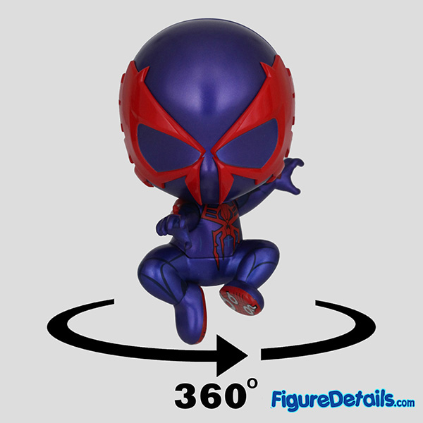 Hot Toys Spiderman 2099 Black Suit Bobble Head Cosbaby cosb623 Review