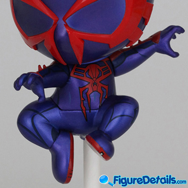 Hot Toys Spiderman 2099 Black Suit Bobble Head Cosbaby cosb623 Review 7