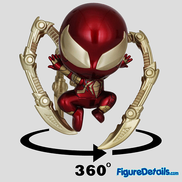 Hot Toys Iron Spider Armor Suit Spiderman Bobble Head Cosbaby cosb624 Review