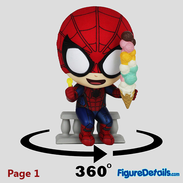 Hot Toys Spiderman Movbi Bobble Head Cosbaby cosb642 Review 9