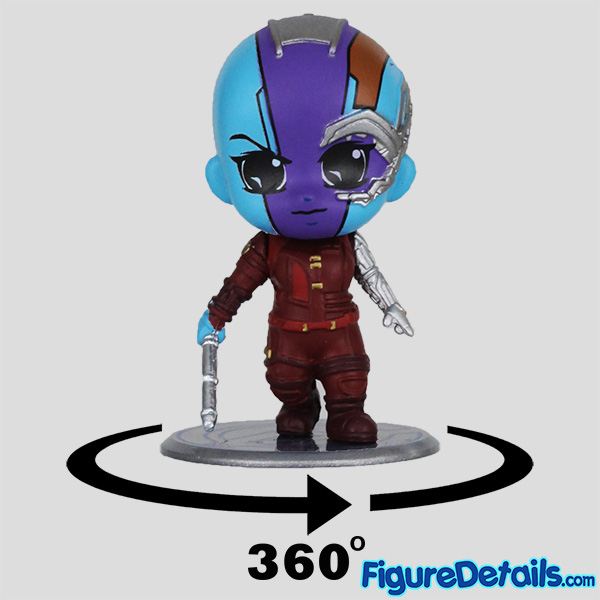 Hot Toys Nebula cosbaby Review - Guardians of the Galaxy - Avengers Endgame - cosb682