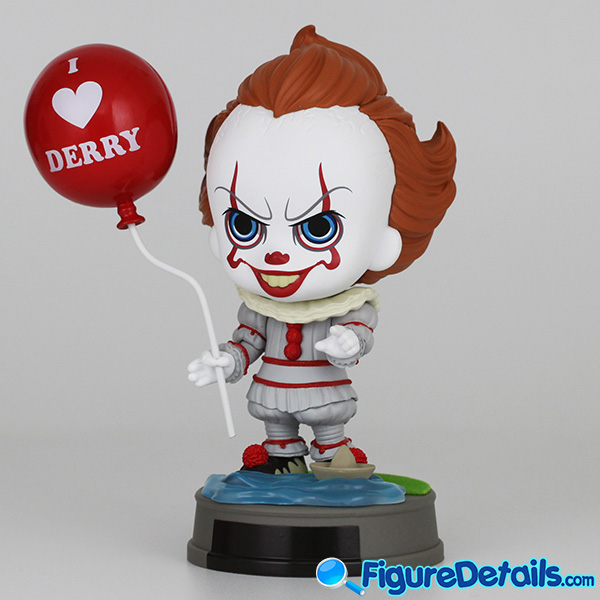 Hot Toys Pennywise with Balloon Cosbaby cosb684 Review - IT Chapter 2 5