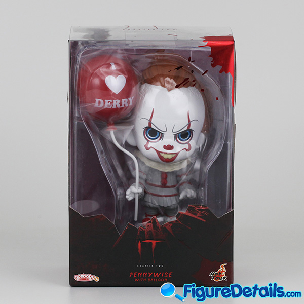 Hot Toys Pennywise with Balloon Cosbaby cosb684 Review - IT Chapter 2 8