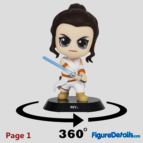 Hot Toys Rey Bobble Head Cosbaby cosb688 Review 9