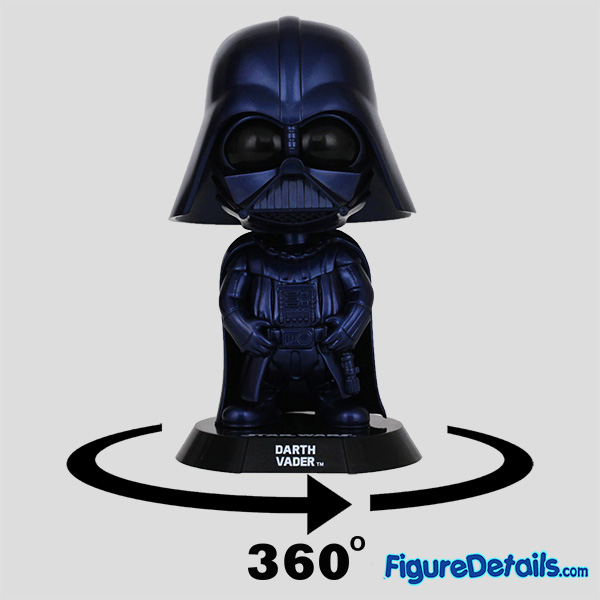 Hot Toys Darth Vader Metallic Blue Version Bobble Head Cosbaby COSB695 Review