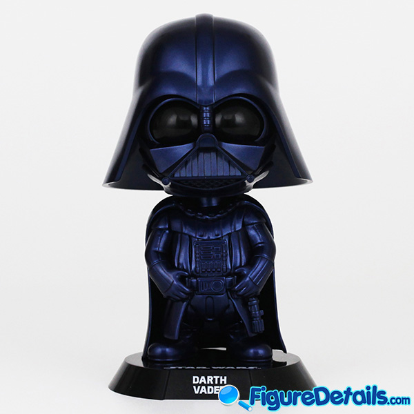 Hot Toys Darth Vader Metallic Blue Version Bobble Head Cosbaby COSB695 Review 2