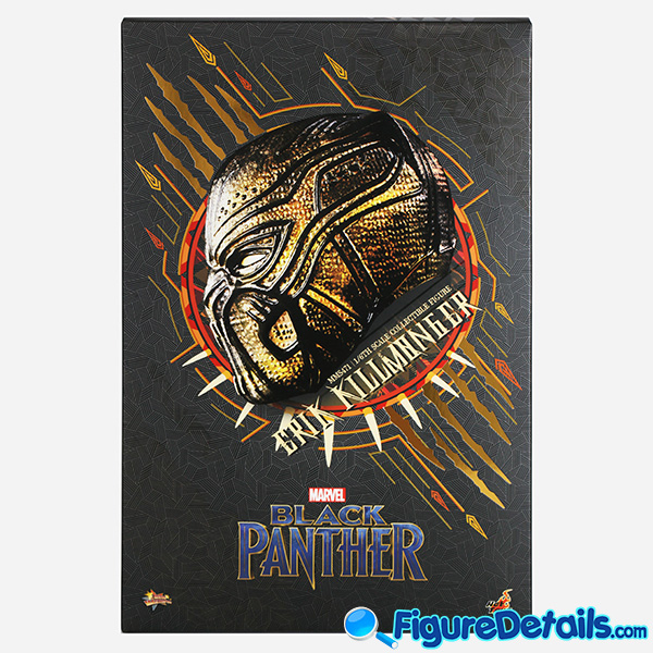 Hot Toys Erik Killmonger mms471 Box Art and Packing 3