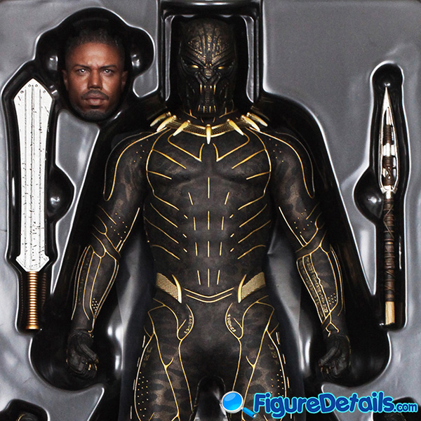 Hot Toys Erik Killmonger mms471 Box Art and Packing 7