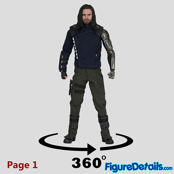Hot Toys Winter Soldier Bucky Barnes Review - Avengers Infinity War - mms509