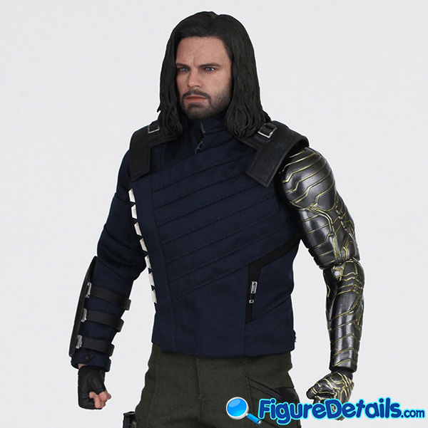 Hot Toys Winter Soldier Bucky Barnes Review - Avengers Infinity War - mms509 8