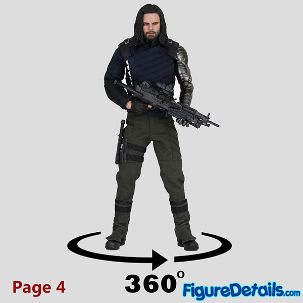 Hot Toys Winter Soldier Bucky Barnes Review - Avengers Infinity War - mms509 7
