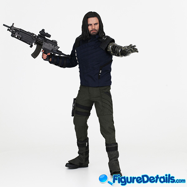 Hot Toys Winter Soldier with Machine Gun Review - Avengers Infinity War - mms509 2