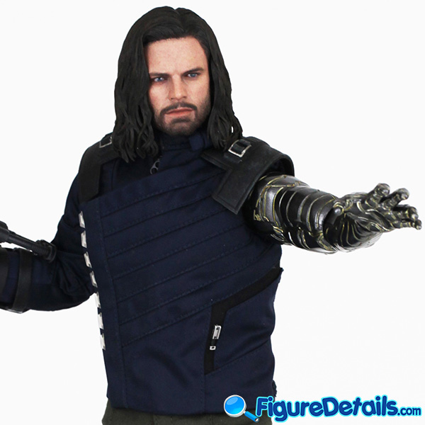 Hot Toys Winter Soldier with Machine Gun Review - Avengers Infinity War - mms509 3