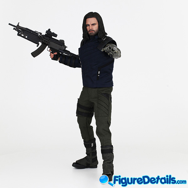 Hot Toys Winter Soldier with Machine Gun Review - Avengers Infinity War - mms509 6