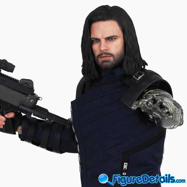 Hot Toys Winter Soldier with Machine Gun Review - Avengers Infinity War - mms509 7