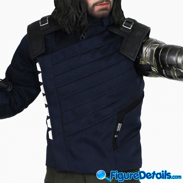 Hot Toys Winter Soldier with Machine Gun Review - Avengers Infinity War - mms509 13