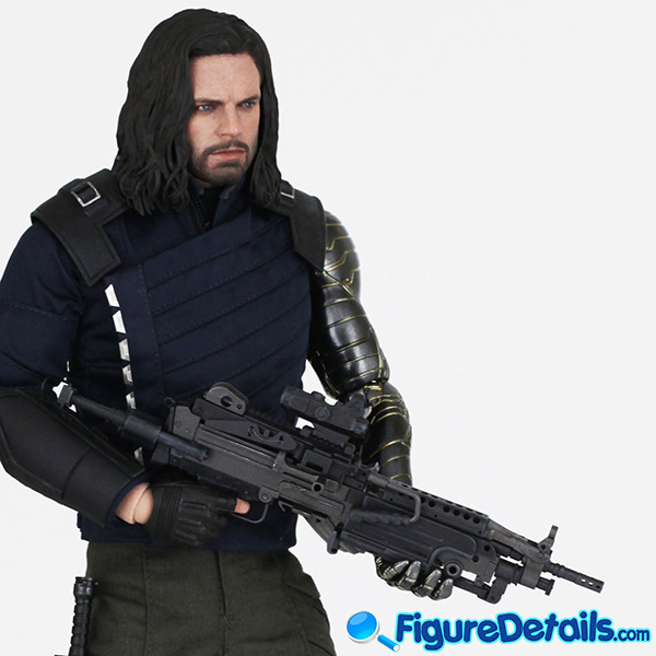 Hot Toys Winter Soldier Bucky Barnes mms509 Review - Avengers Infinity War - mms509 8