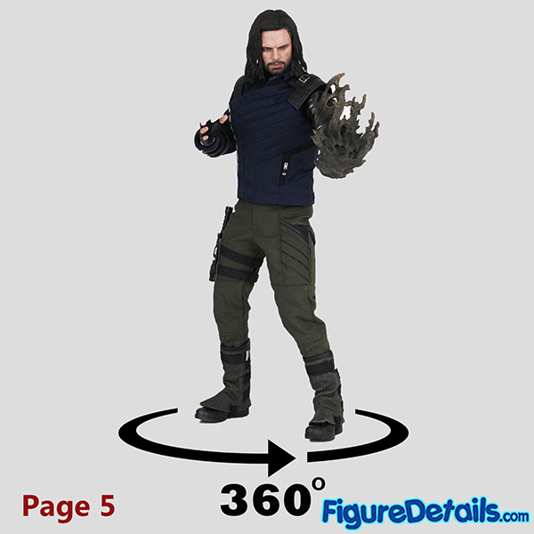Hot Toys Winter Soldier Bucky Barnes with Dust Arm mms509 Review - Avengers Infinity War - mms509