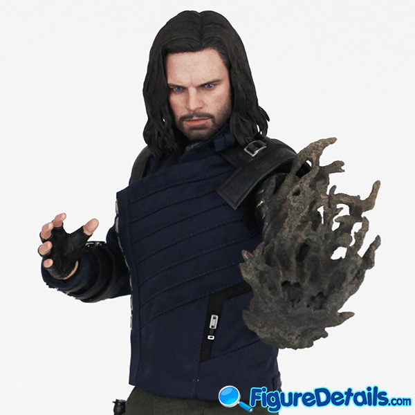 Hot Toys Winter Soldier Bucky Barnes with Dust Arm mms509 Review - Avengers Infinity War - mms509 6