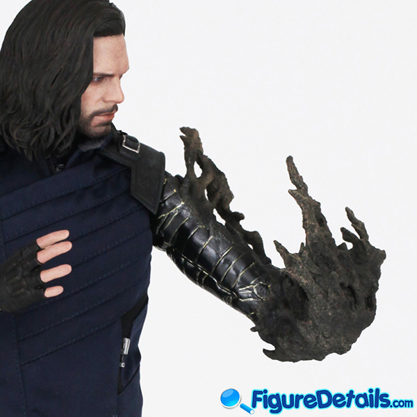 Hot Toys Winter Soldier Bucky Barnes with Dust Arm mms509 Review - Avengers Infinity War - mms509 9