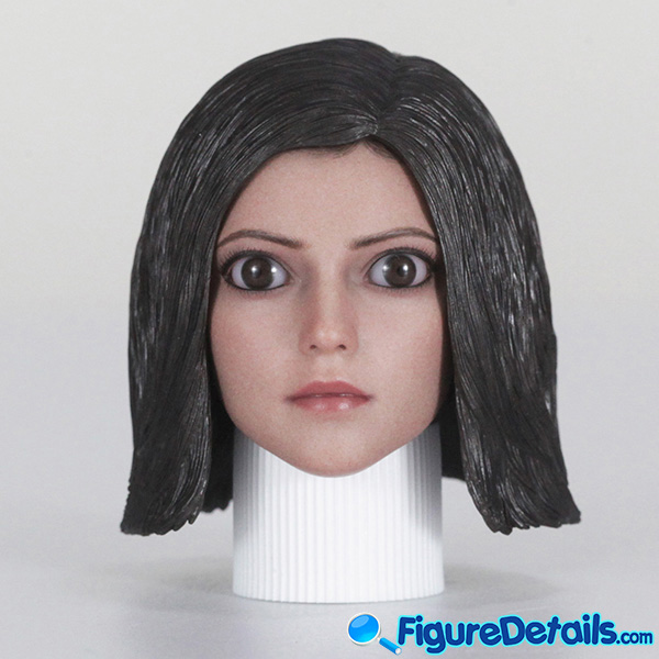 Hot Toys Alita Head Sculpt, Box and Packing Review 2