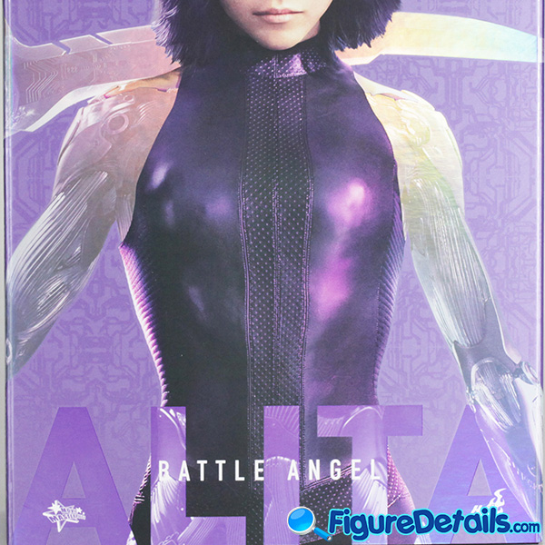 Hot Toys Alita Head Sculpt, Box and Packing Review 9