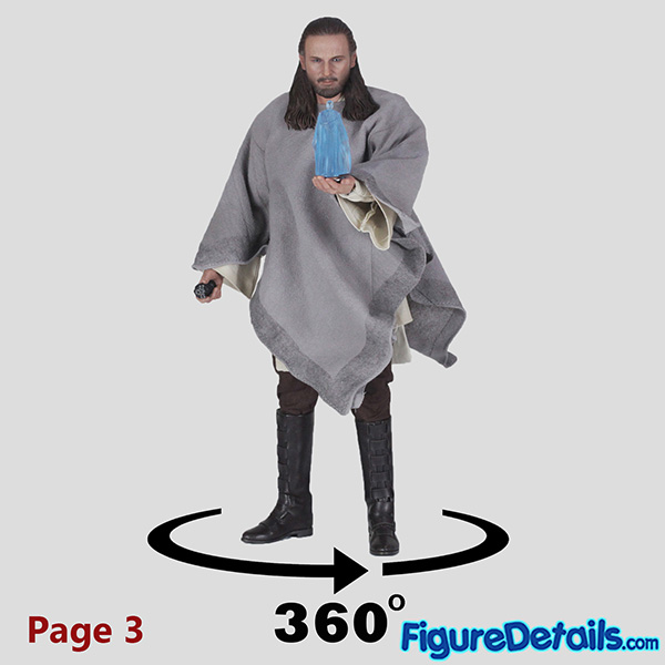 Hot Toys Qui-Gon Jinn Rest Position Review 9