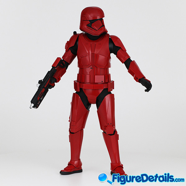 Hot Toys Sith Trooper new Helmet and armor Review - Star Wars: The Rise of Skywalker - mms544 3