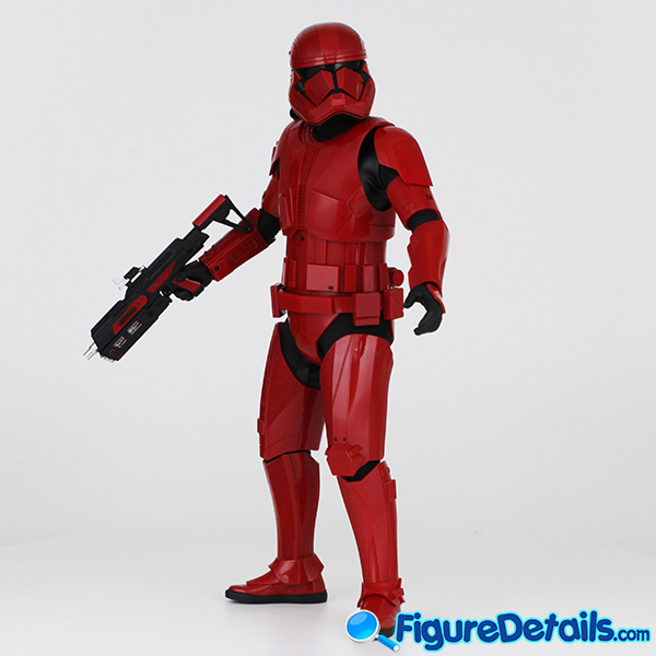 Hot Toys Sith Trooper new Helmet and armor Review - Star Wars: The Rise of Skywalker - mms544 4