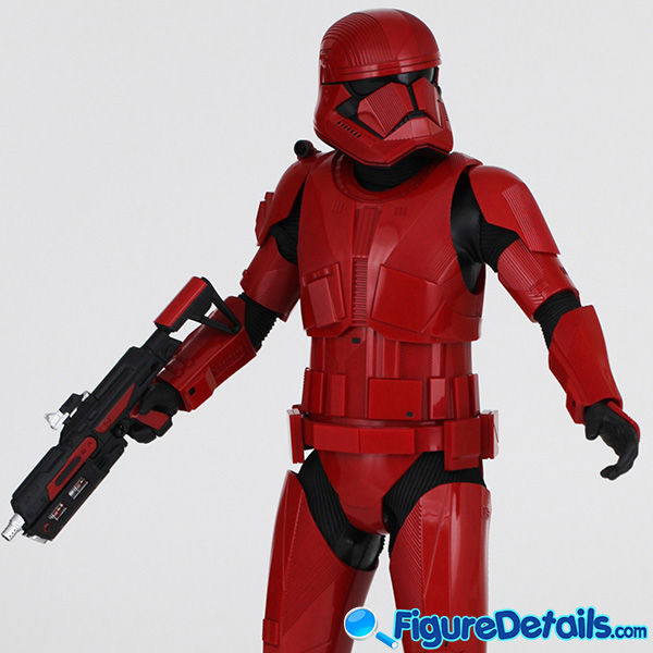 Hot Toys Sith Trooper new Helmet and armor Review - Star Wars: The Rise of Skywalker - mms544 6