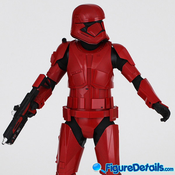 Hot Toys Sith Trooper new Helmet and armor Review - Star Wars: The Rise of Skywalker - mms544 8