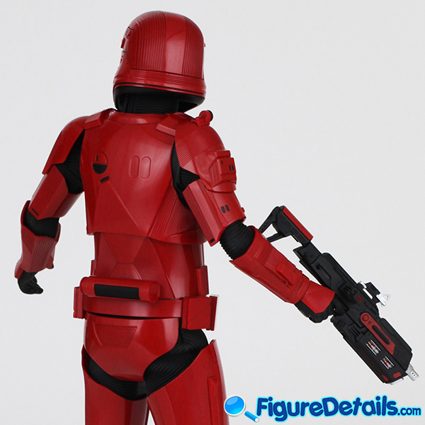 Hot Toys Sith Trooper new Helmet and armor Review - Star Wars: The Rise of Skywalker - mms544 10
