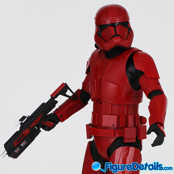 Hot Toys Sith Trooper new Helmet and armor Review - Star Wars: The Rise of Skywalker - mms544 12