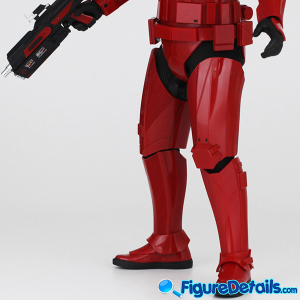 Hot Toys Sith Trooper new Helmet and armor Review - Star Wars: The Rise of Skywalker - mms544 13