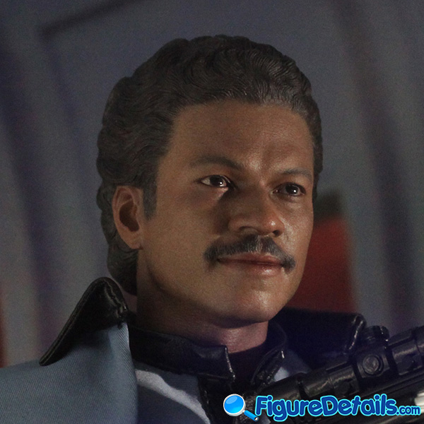 Hot Toys Lando Calrissian Head Sculpt Prototype Preview - Star Wars: Episode V - mms588