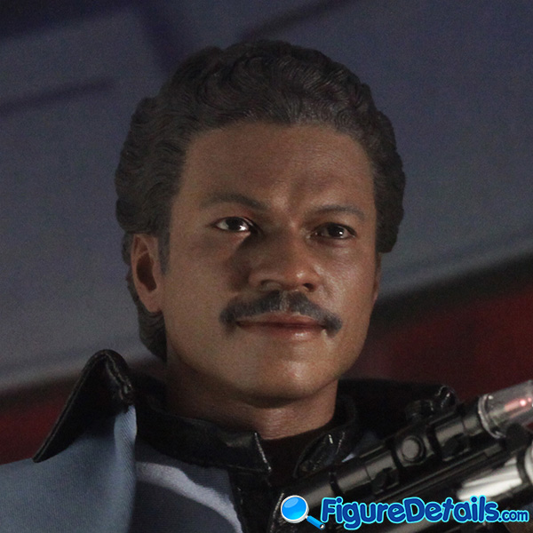 Hot Toys Lando Calrissian Head Sculpt Prototype Preview - Star Wars: Episode V - mms588 2