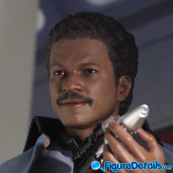Hot Toys Lando Calrissian Head Sculpt Prototype Preview - Star Wars: Episode V - mms588 3