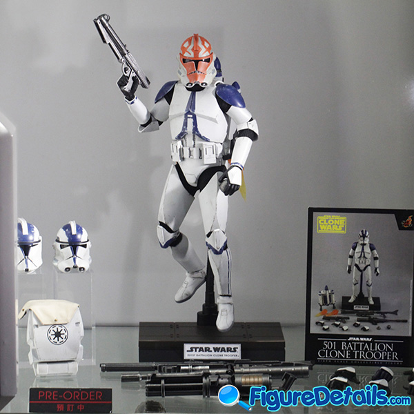 Hot Toys 501st Battalion Clone Trooper Prototype Preview - tms022 tms023
