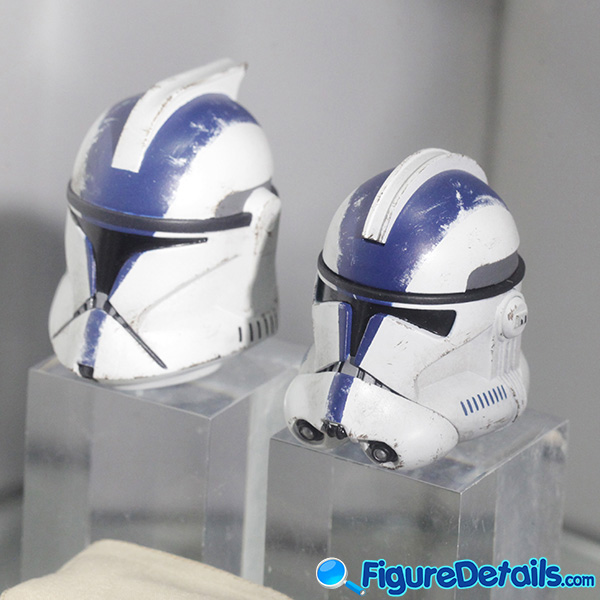 Hot Toys 501st Battalion Clone Trooper Prototype Helmet and Accessories - tms022 tms023 7