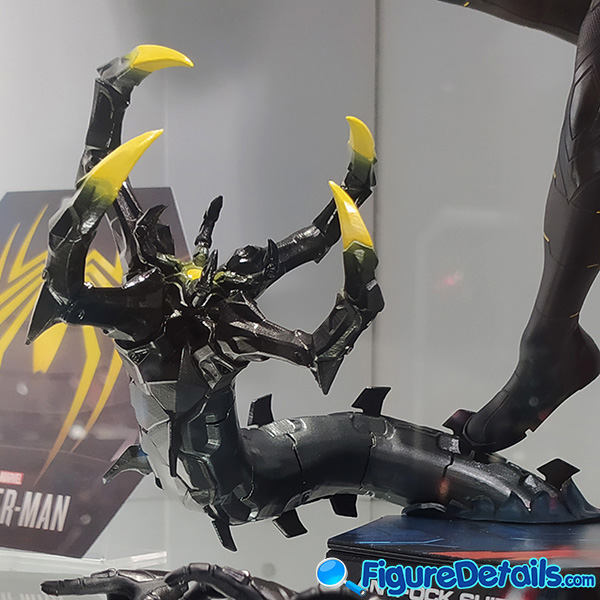 Hot Toys Spiderman Anti Ock Suit deluxe version accessary - battle damaged Dr. Ock's mechanical tentacles 2