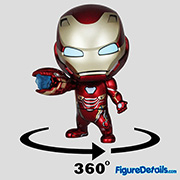 Iron Man Mark 50 Fighting Version Cosbaby cosb573 - Avengers Infinity War - Hot Toys