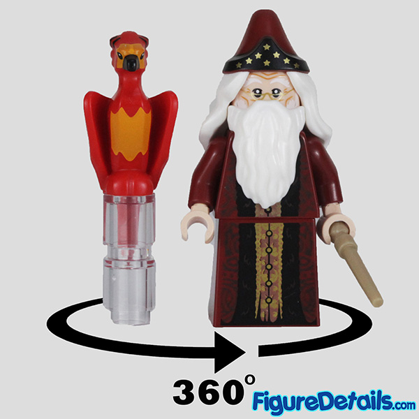Lego Albus Dumbledore Minifigure Review - Lego Collectible Minifigures Harry Potter Series 2