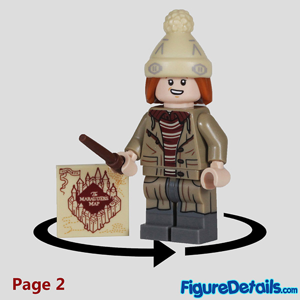 Lego George Weasley Minifigure with laugh face Review - Lego Collectible Minifigures Harry Potter Series 2