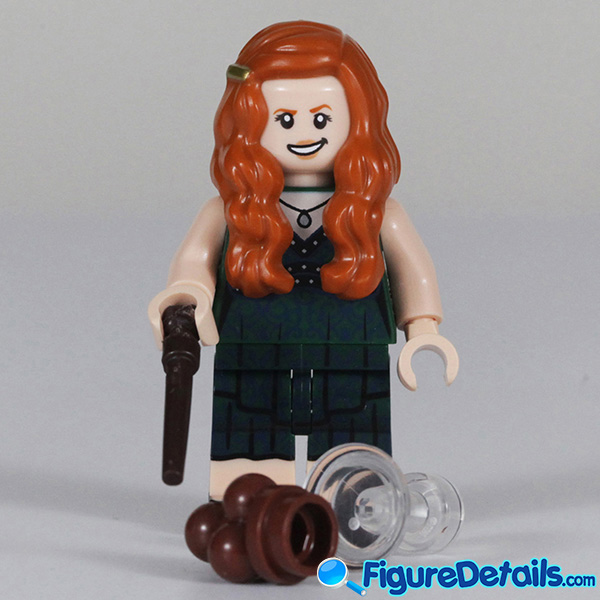 Lego Ginny Weasley Minifigure with Smirk face Review - Lego Collectible Minifigures Harry Potter Series 2 2