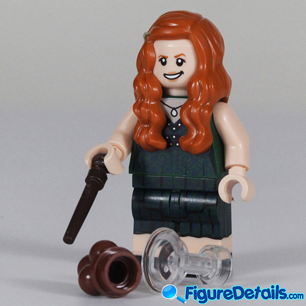 Lego Ginny Weasley Minifigure with Smirk face Review - Lego Collectible Minifigures Harry Potter Series 2 3